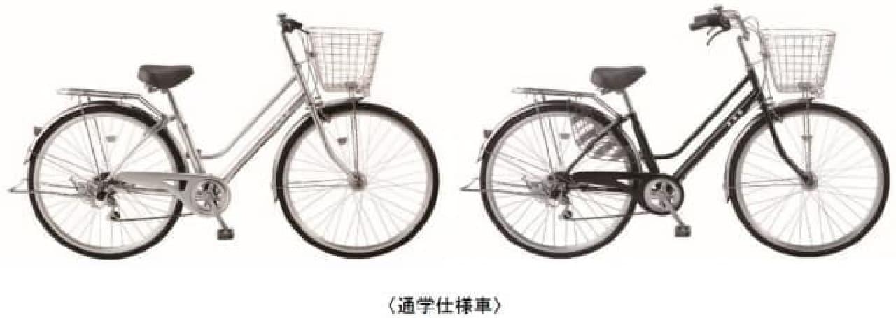 パンクしないタイヤを採用した「DCMブランド パンクしない自転車」