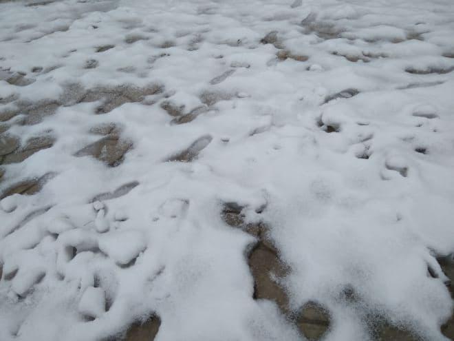 雪道用の「靴底用滑り止めスパイク」