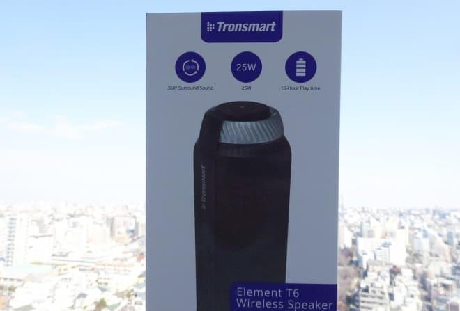 円筒形360度スピーカー「Tronsmart T6」