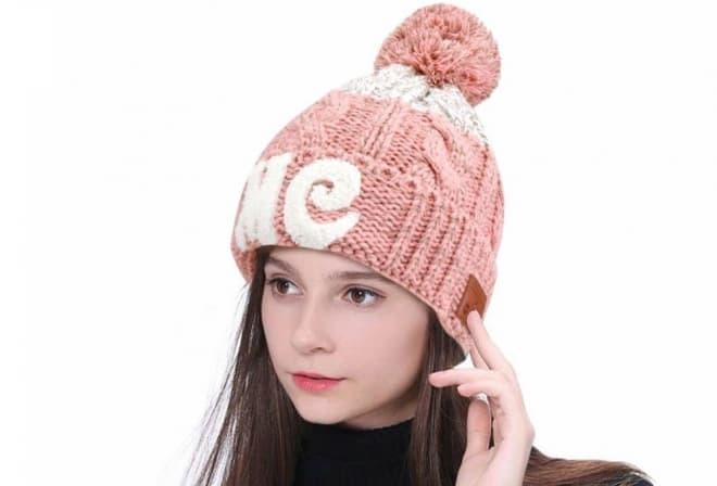 Bluetoothニット帽子