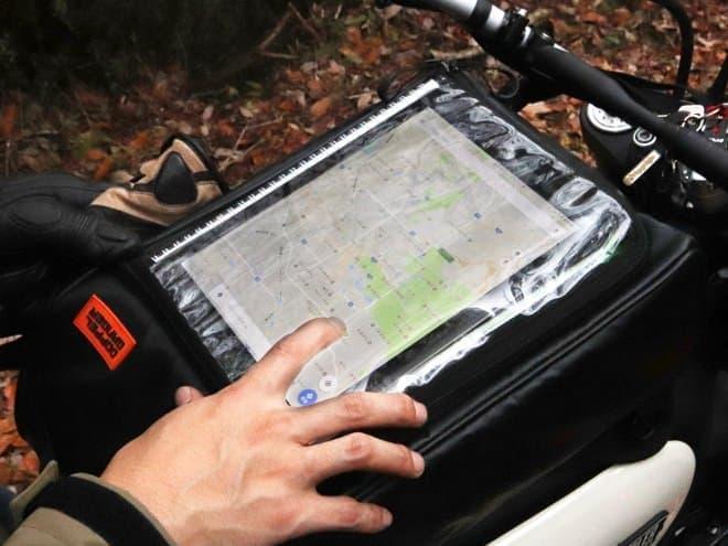 バイクライダー用スリングバッグDOPPELGANGER「ターポリンタンクバッグ」