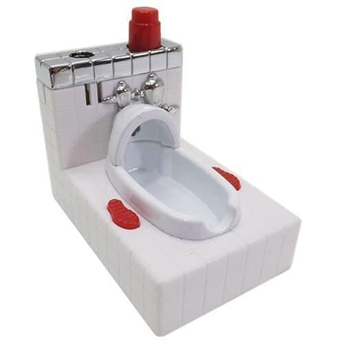 和式のトイレを模した「トイレライター」