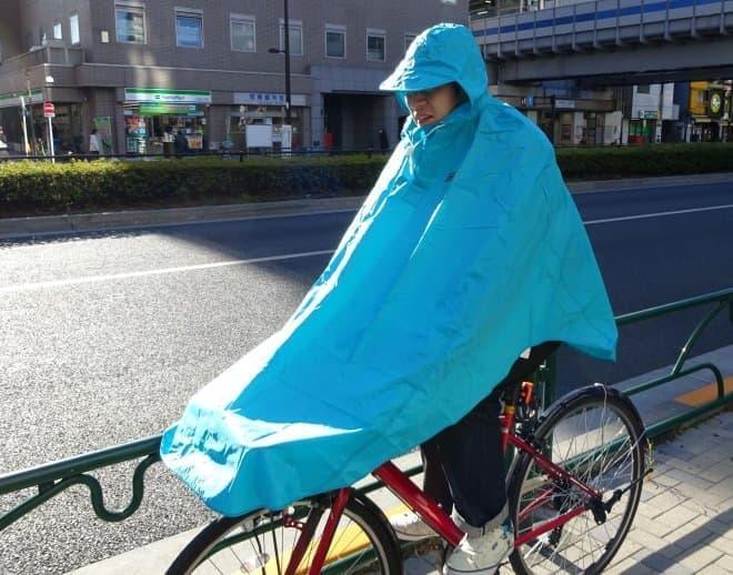 マルト(MARUTO) 自転車屋さんのポンチョ
