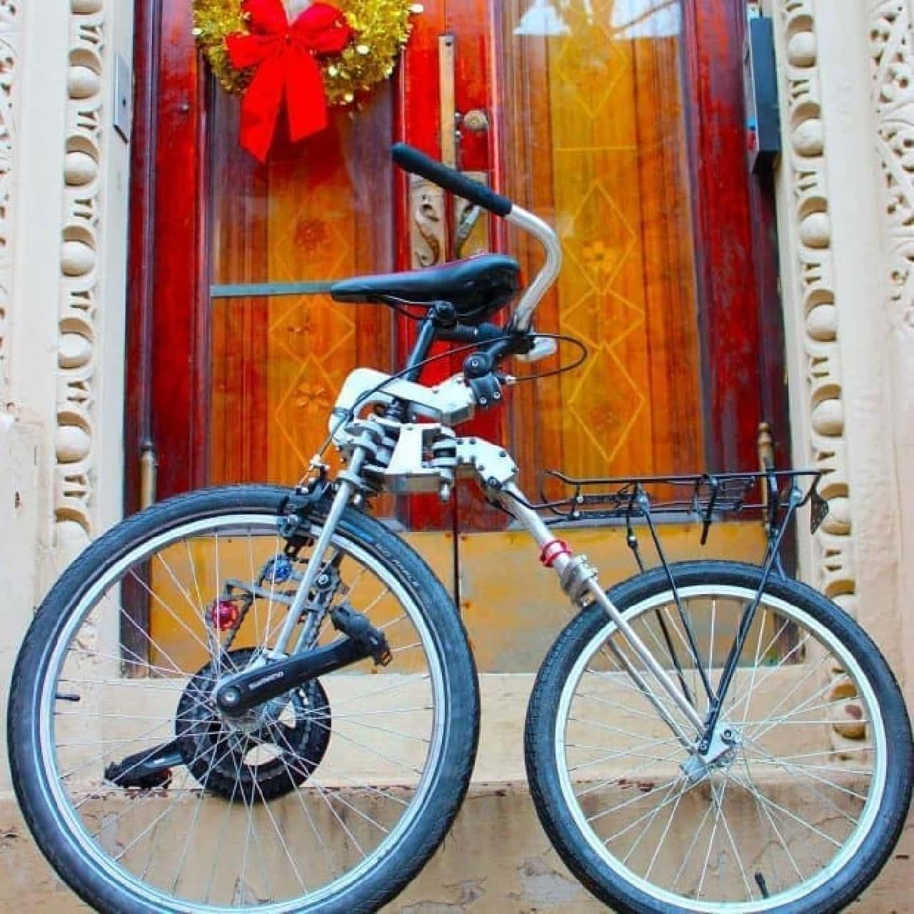 前輪駆動の自転車「Bellcycle」