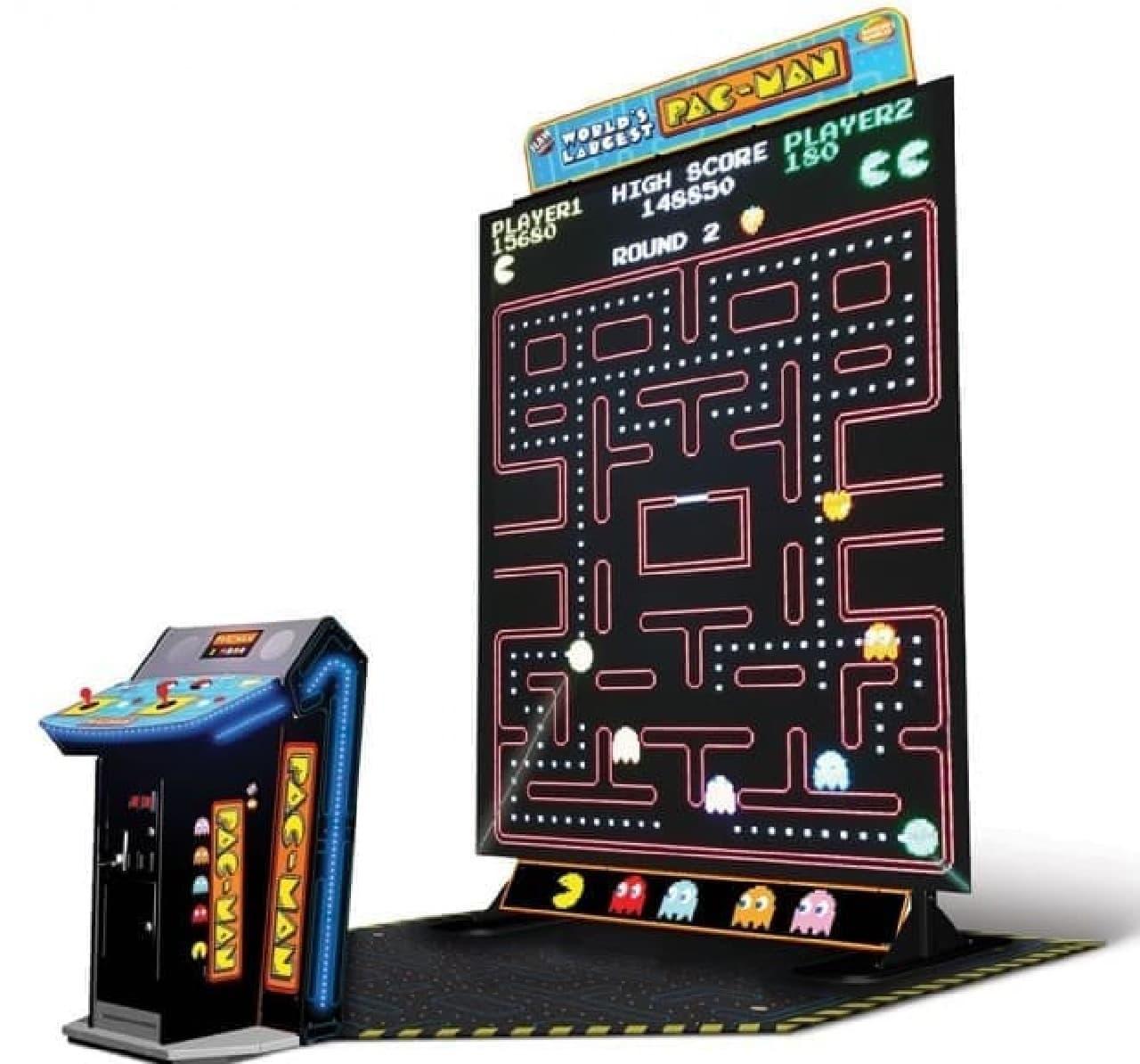 108インチサイズのパックマン「Worlds Largest Pac-Man」