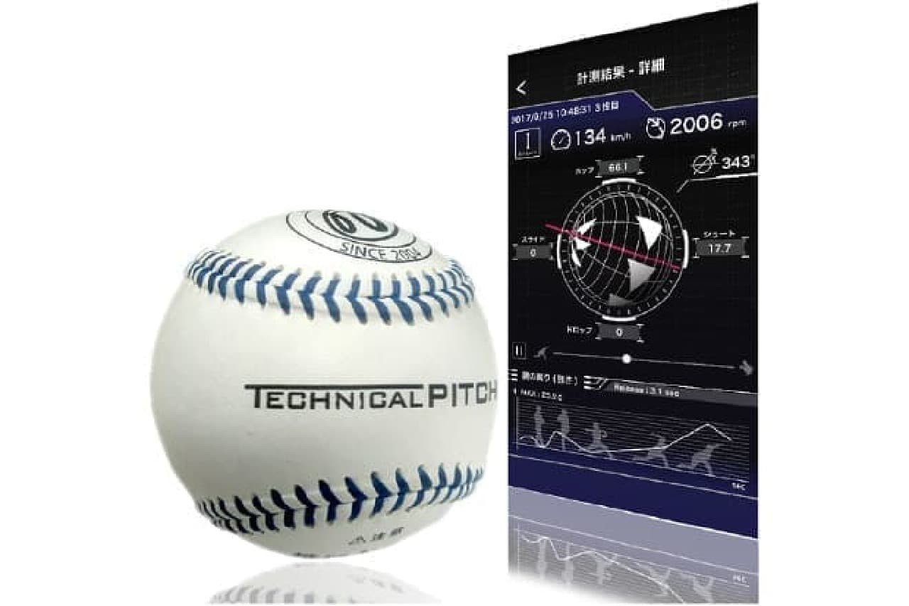 アクロディアの野球ボール