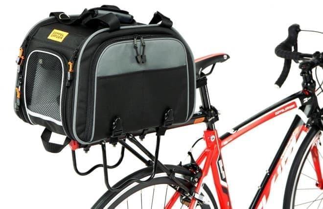 自転車用ペットキャリー「Notte-Motte(ノッテ・モッテ)」、DOPPELGANGERから