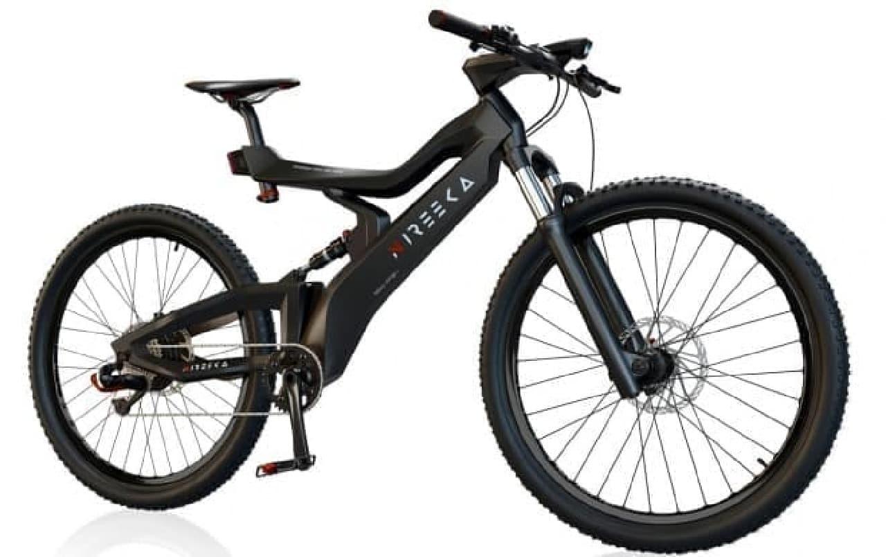 フレーム重わずか1.5キロの電動バイク「Nireeka」