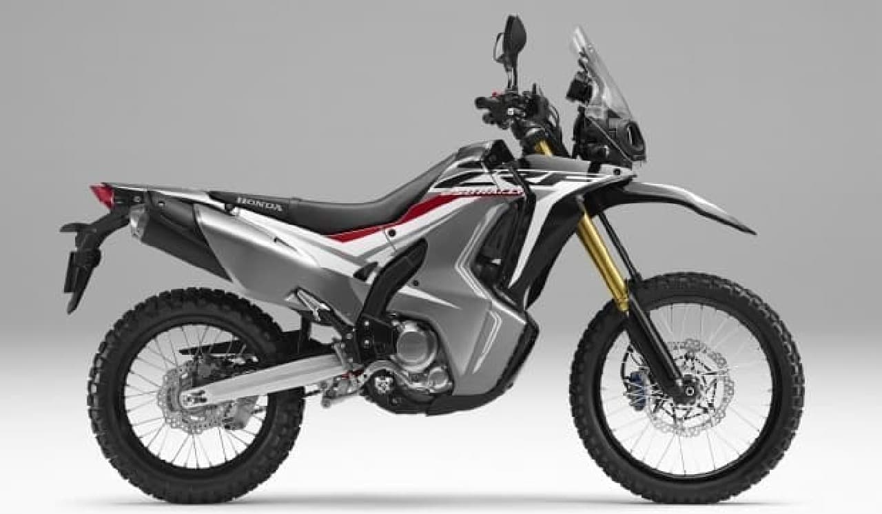ホンダ、250ccのアドベンチャーモデル「CRF250 RALLY<ABS>」