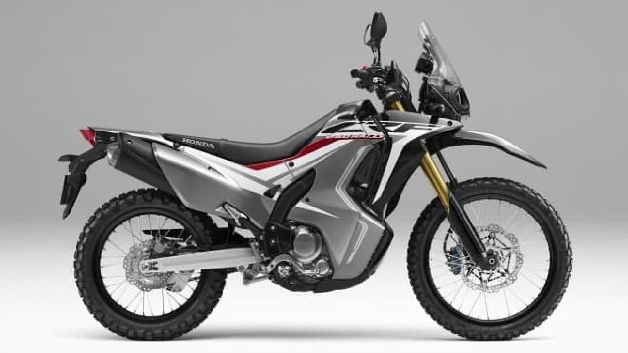 ホンダ、250ccのアドベンチャーモデル「CRF250 RALLY<ABS>」の車体色にブラックを追加