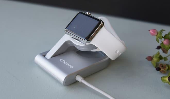 Apple Watch充電スタンド、cheeroの「Charging Dock for Apple Watch」