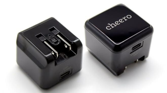 Power Deliveryに対応したUSB-C充電器 cheeroの「USB-C PD Charger」