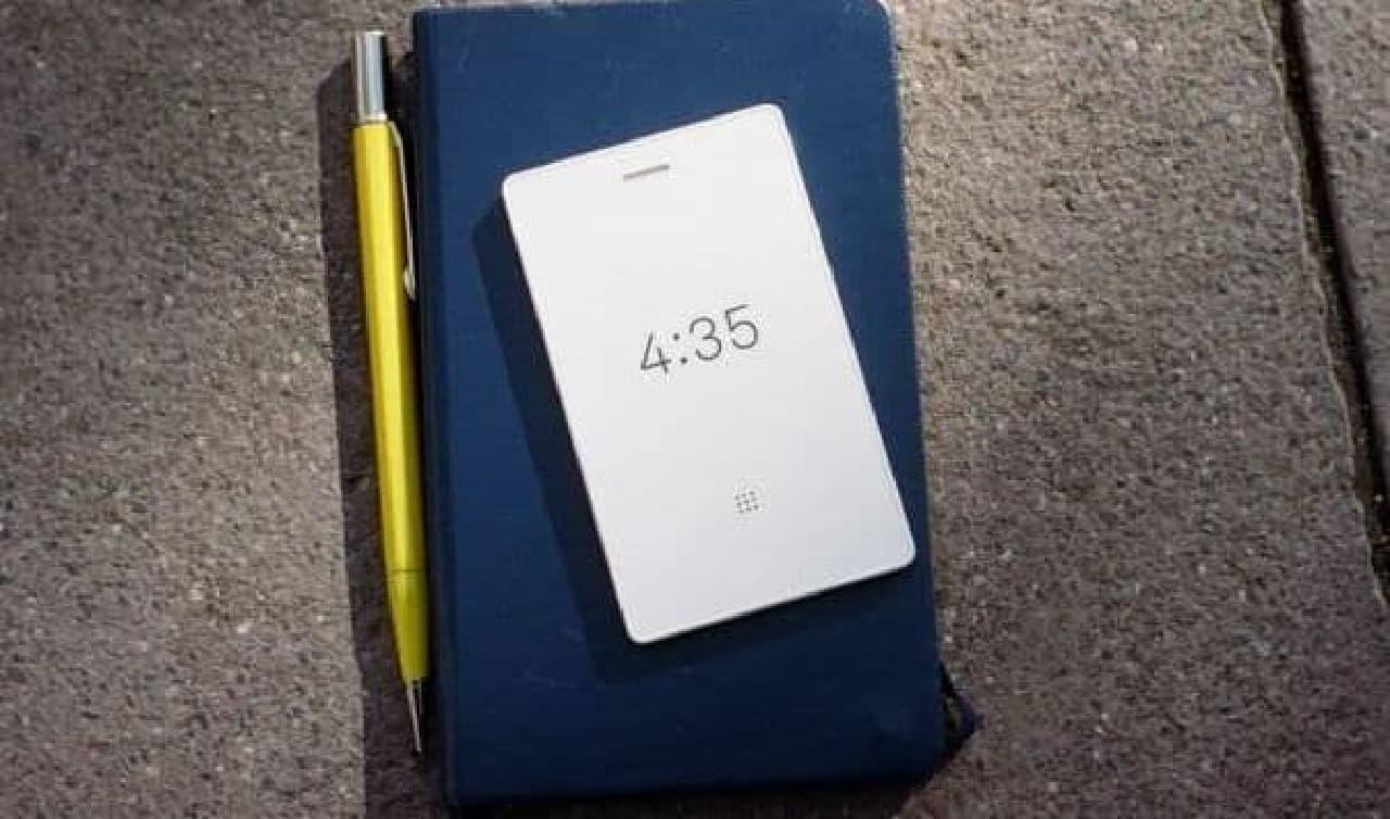 財布に入る携帯電話「Light Phone 2」