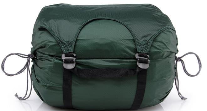 荷物を5種類に分類して収納する圧縮バッグ「GOBI GEAR ゴビギア ホーボーロール」
