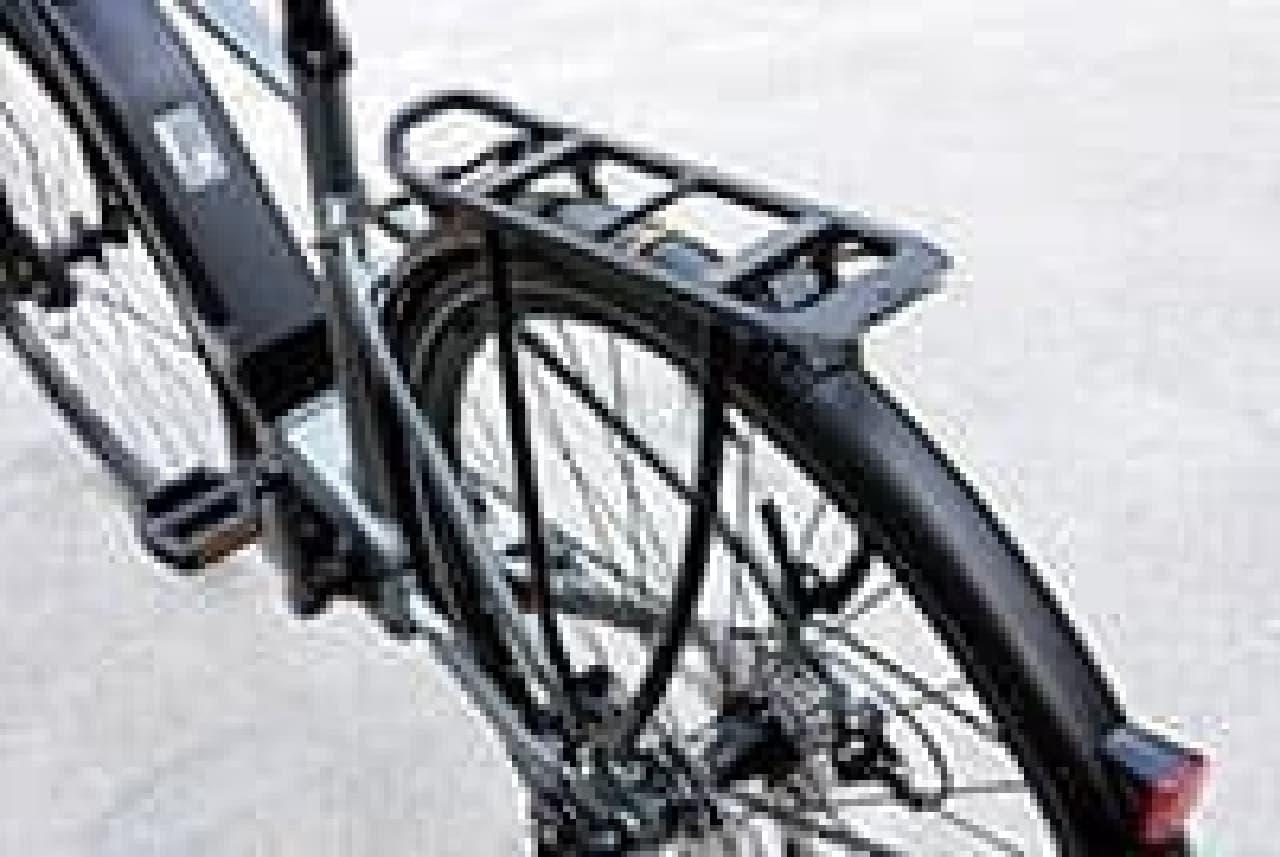 フル装備のトレッキングバイク「YPJ-TC」