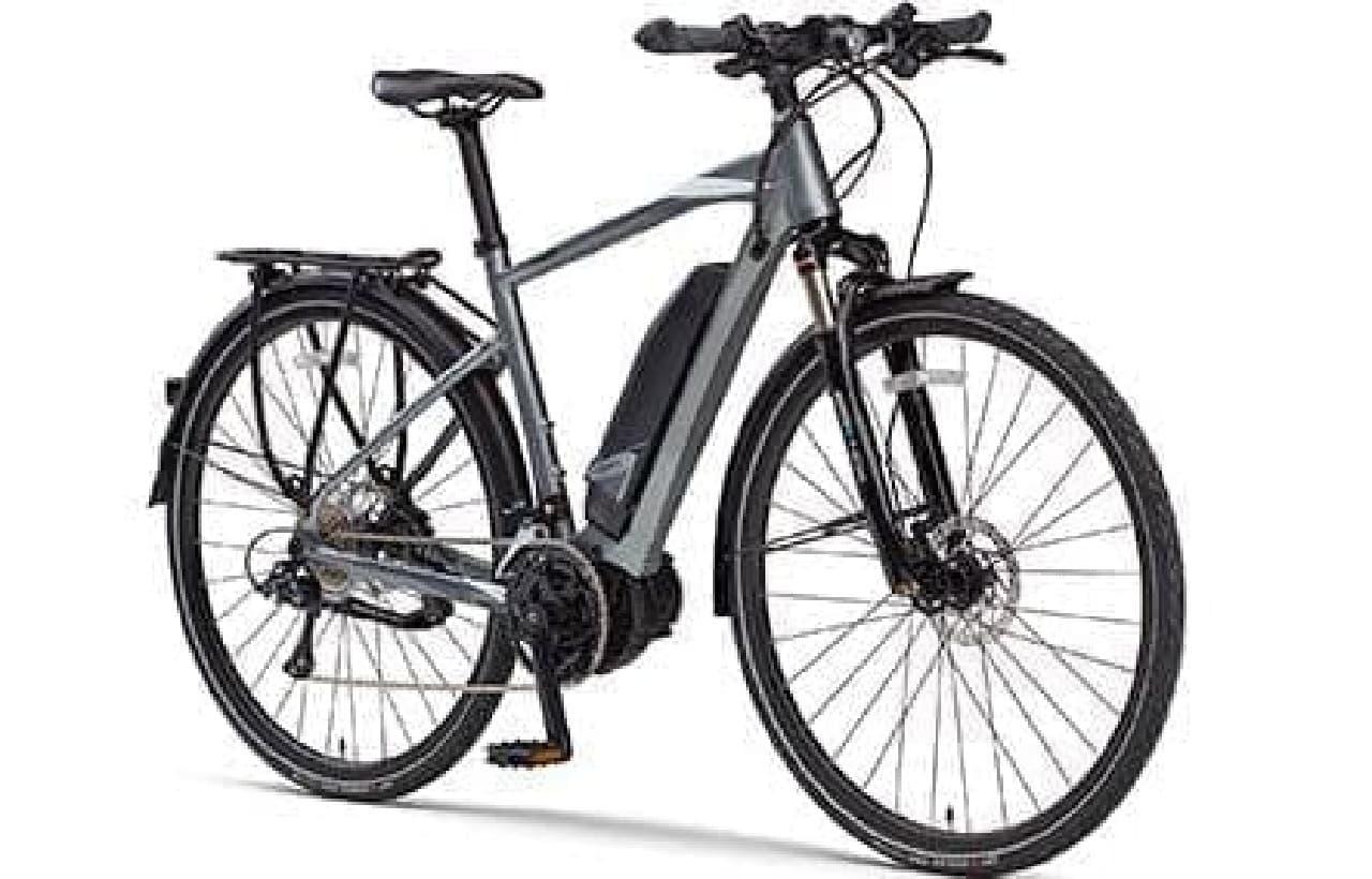 フル装備トレッキングバイク「YPJ-TC」