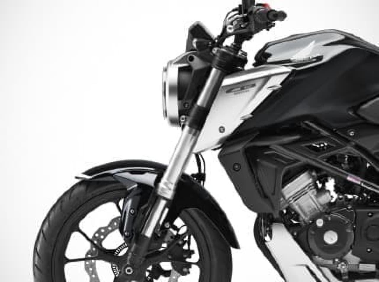 125ccスポーツモデル、ホンダ「CB125R」発売