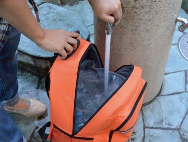 貯水タンク付 EX.48 サバイバルローラーバッグ コンパクト