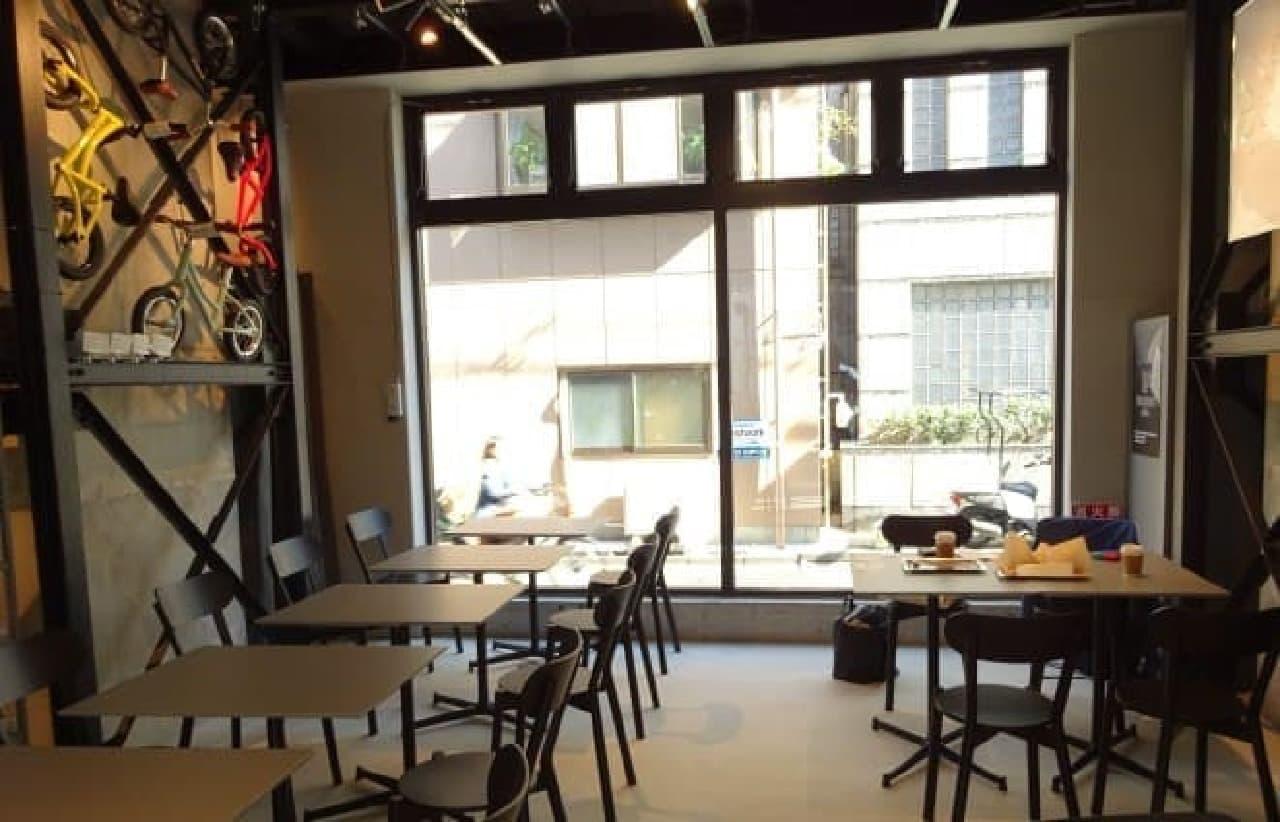 「DOUGHNUT PLANT」五反田飲食コーナー