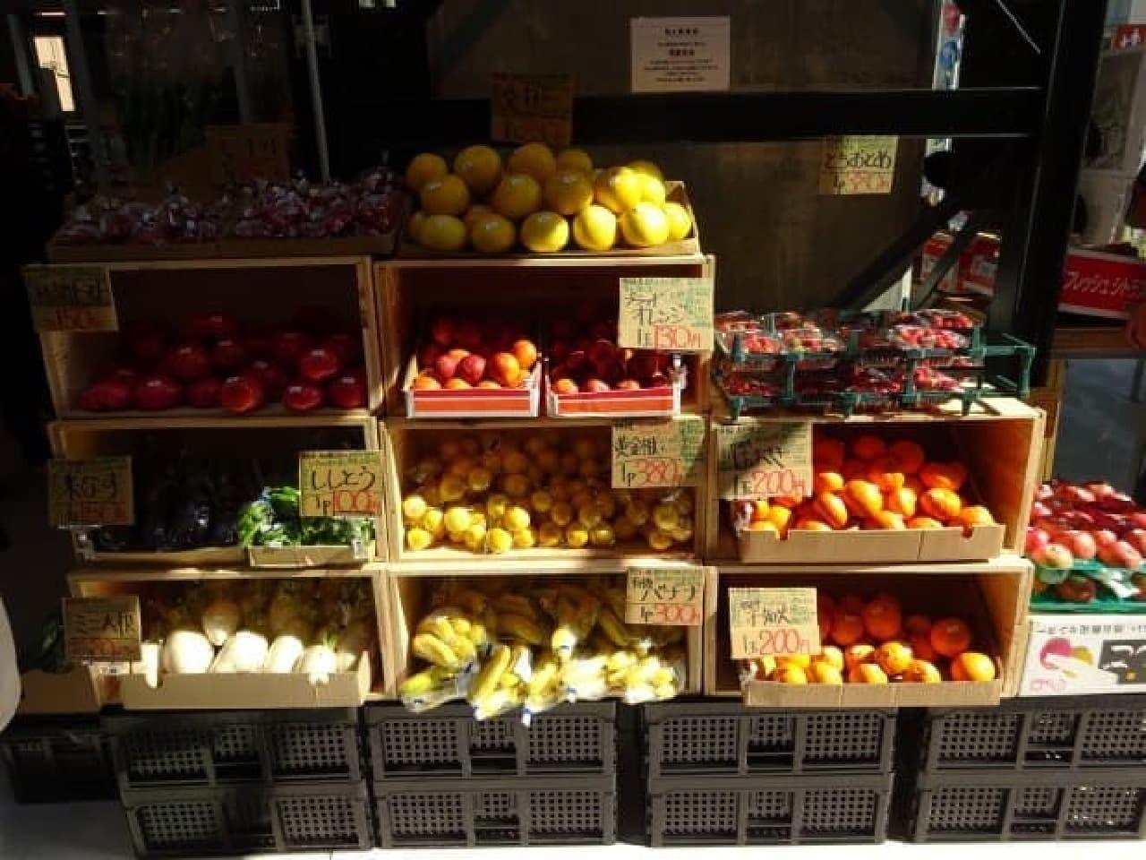 新鮮・おいしい・適正価格」をモットーにした、八百屋さん「旬八青果店」