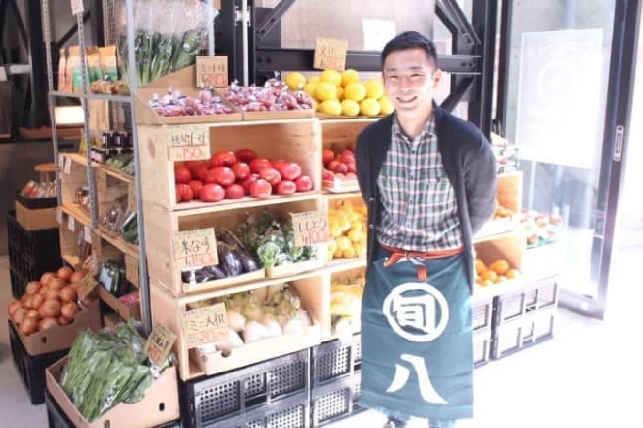 「新鮮・おいしい・適正価格」をモットーにした、八百屋さん「旬八青果店」
