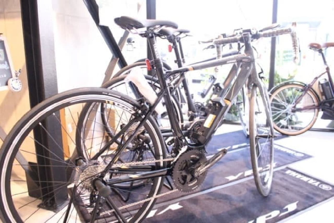 YAMAHAの電動アシスト自転車
