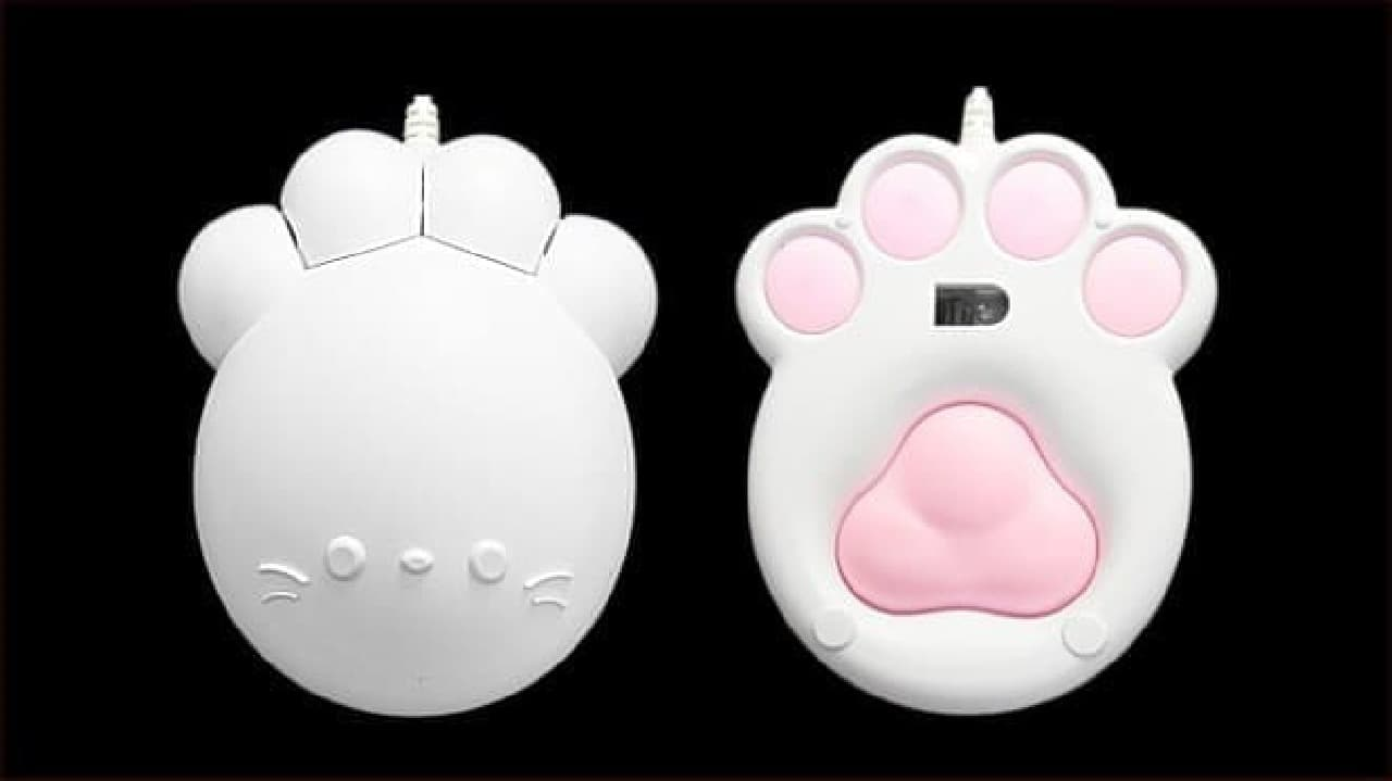 肉球マウス「Pnitty Mouse」2nd model