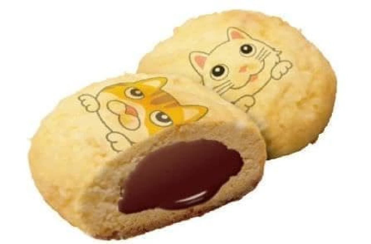 「CAT PICクッキーズ五十嵐健太さん」中身はチョコ
