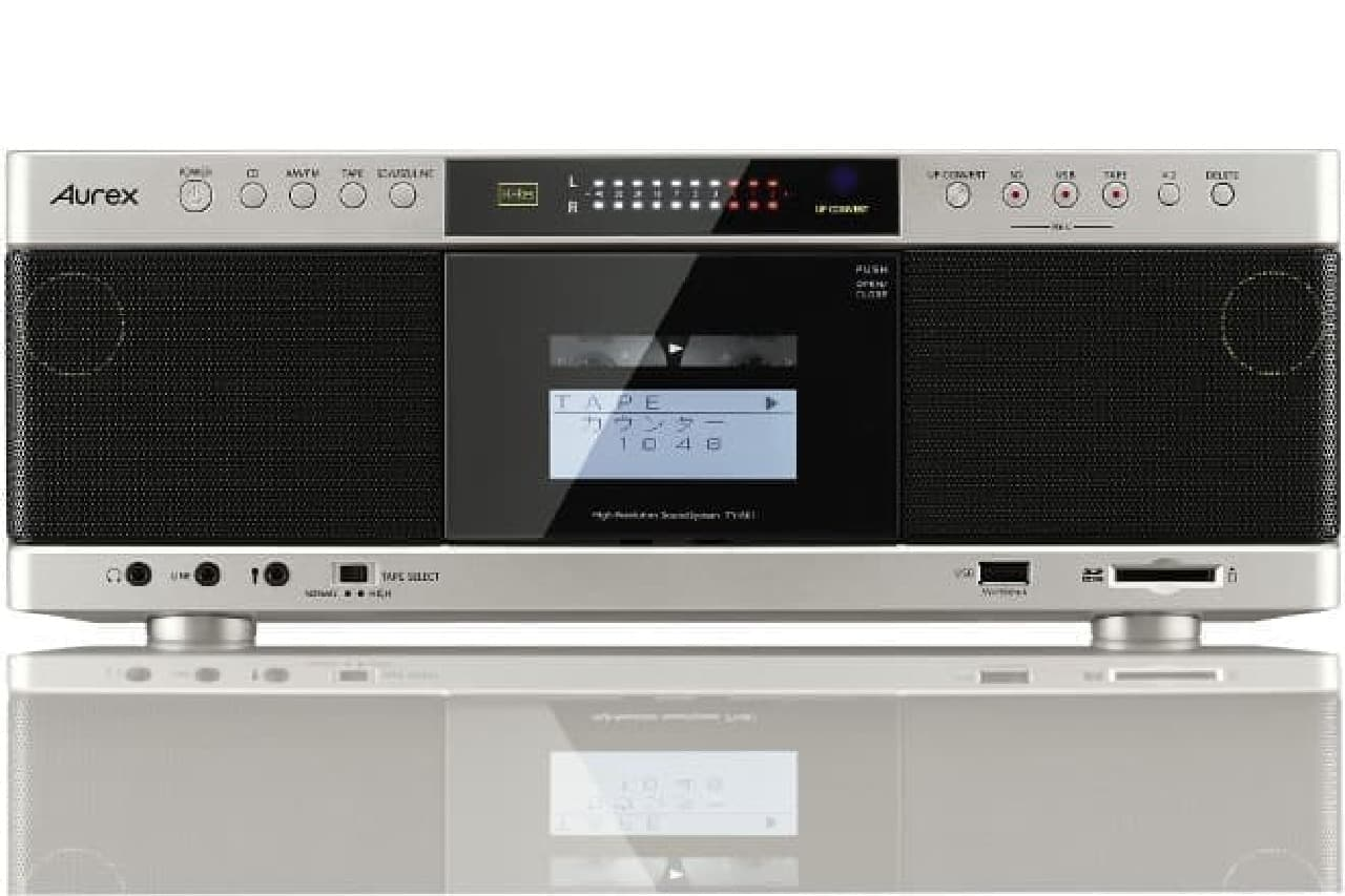 カセットテープレコーダーのイメージ