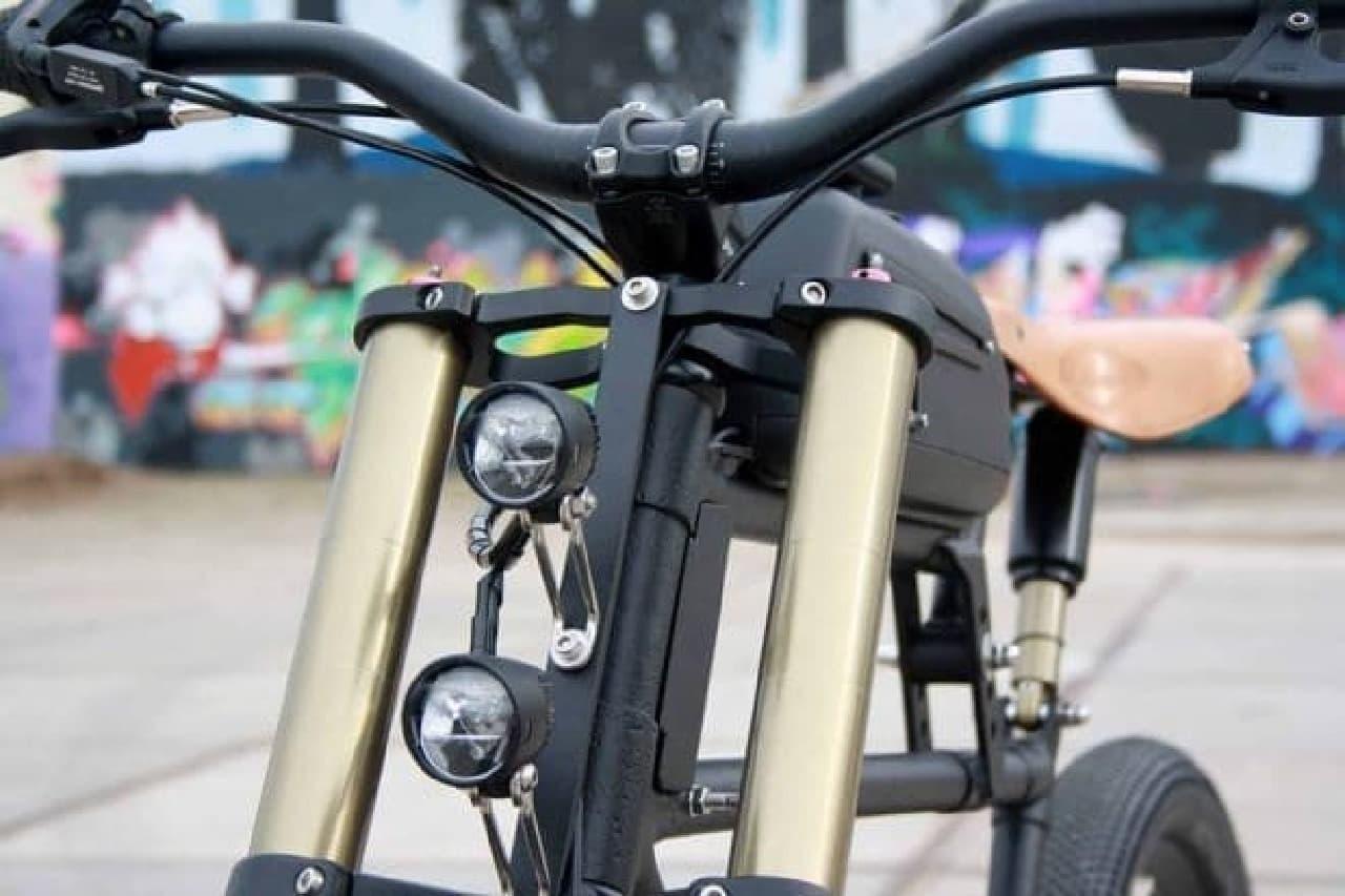 スクランブラーをイメージした電動アシスト自転車「Scrambler V2.0」