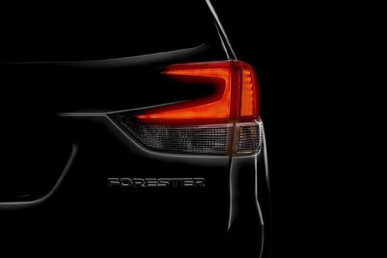 SUBARUの新型「フォレスター」、2018年ニューヨーク国際自動車ショーで世界初公開