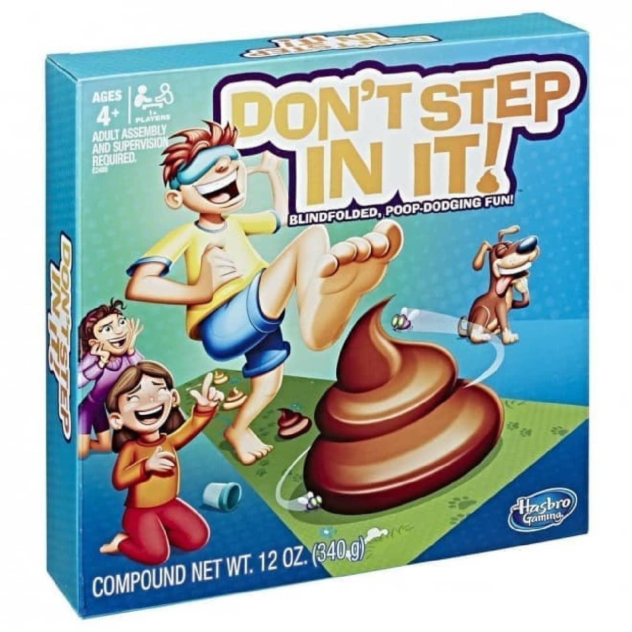 家族や友だちと楽しめる「DON'T STEP IN IT(踏んじゃだめだ)」