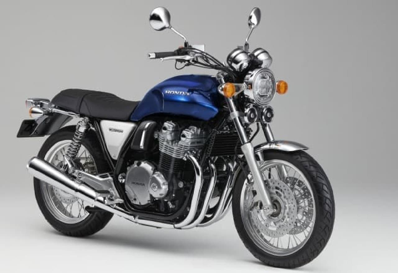 ホンダ「CB1100」シリーズ、カラバリと仕様の一部を変更