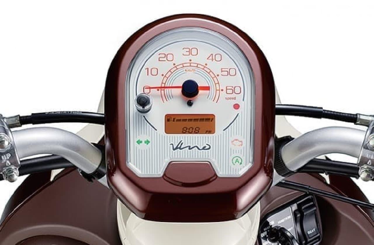 アイドリングストップ搭載-ヤマハ「Vino」がモデルチェンジ