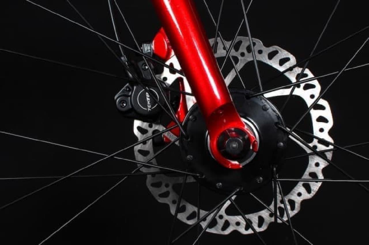 上質さとエロさを備えた自転車、ROCKBIKES「PRIDE phase4」