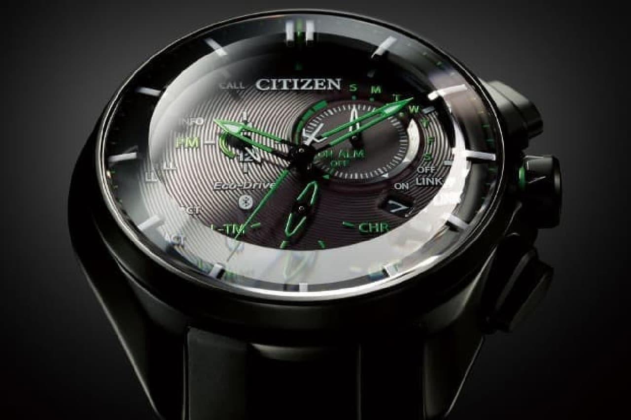 スーパーチタニウム採用のスマホ連携アナログ腕時計「W770」