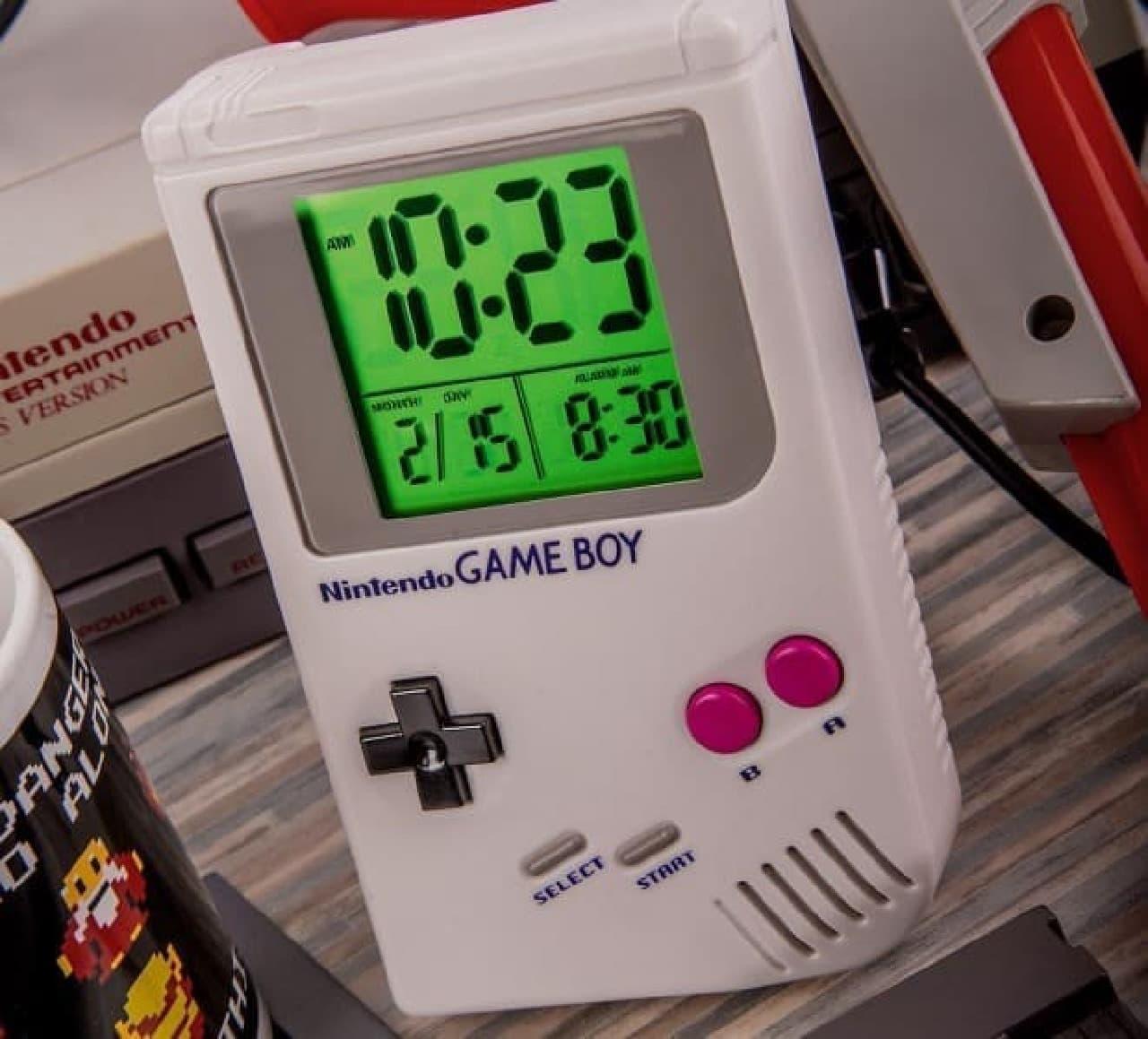 任天堂ゲームボーイをモチーフにした目覚まし時計「Game Boy Alarm Clock」