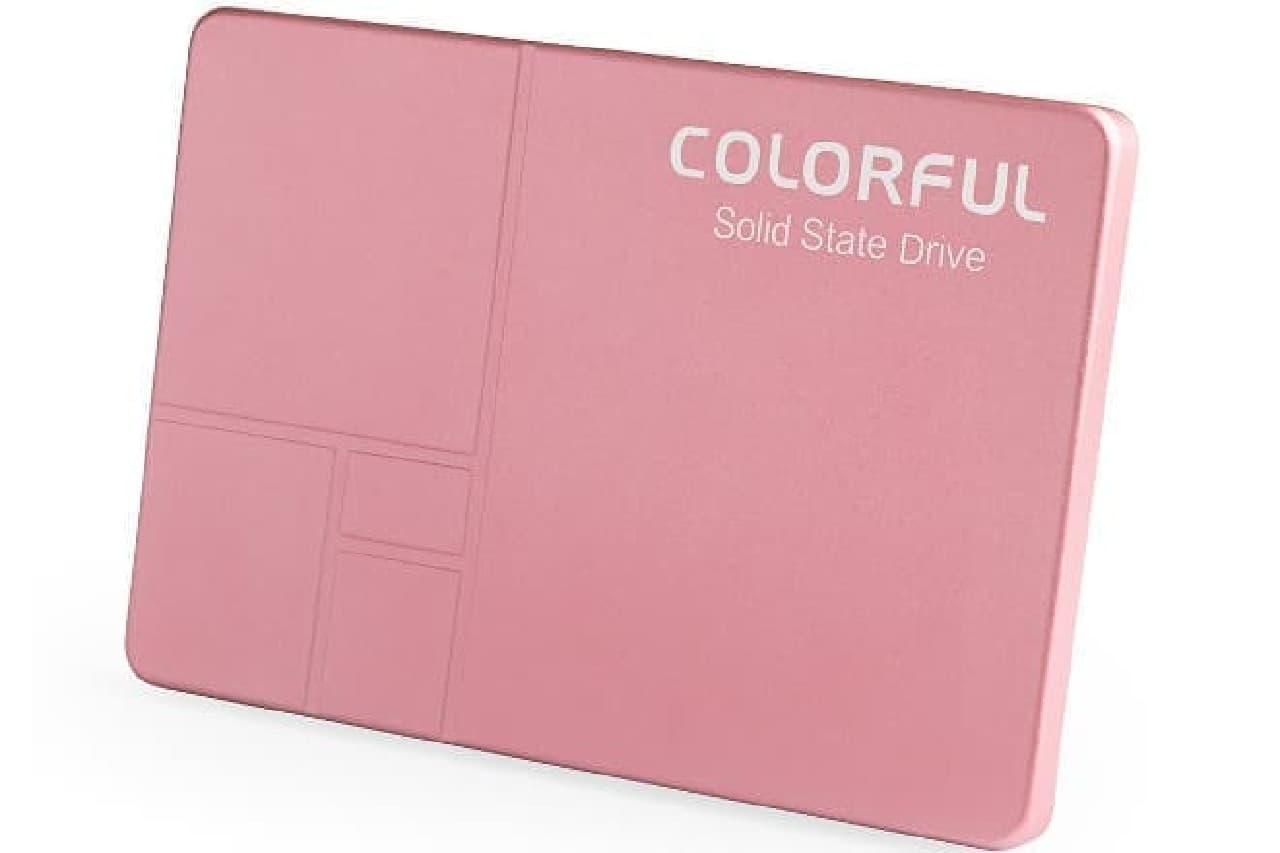 サクラ色のSSD「COLORFUL SSD SL300 160G PINK Limited Edition」