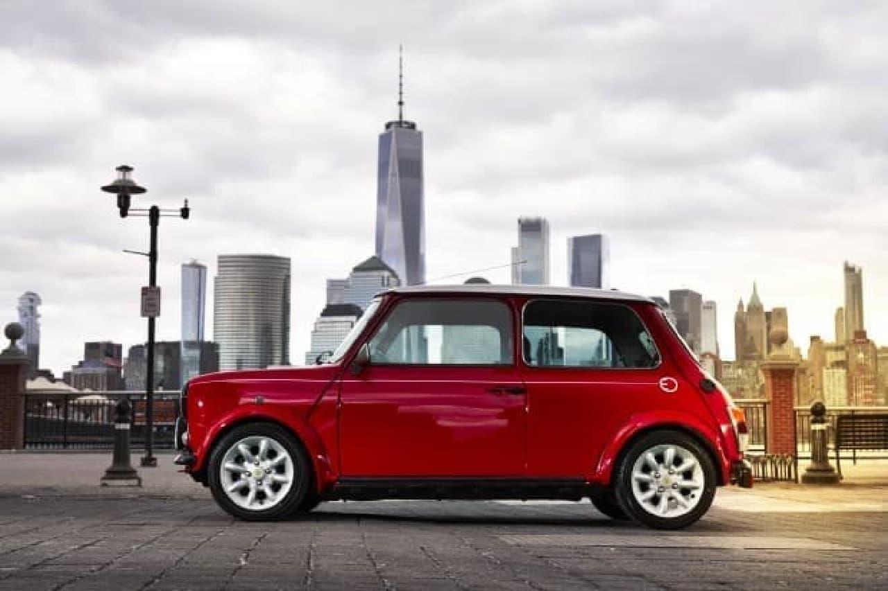 「Classic MINI Electric」がニューヨークモーターショーに登場