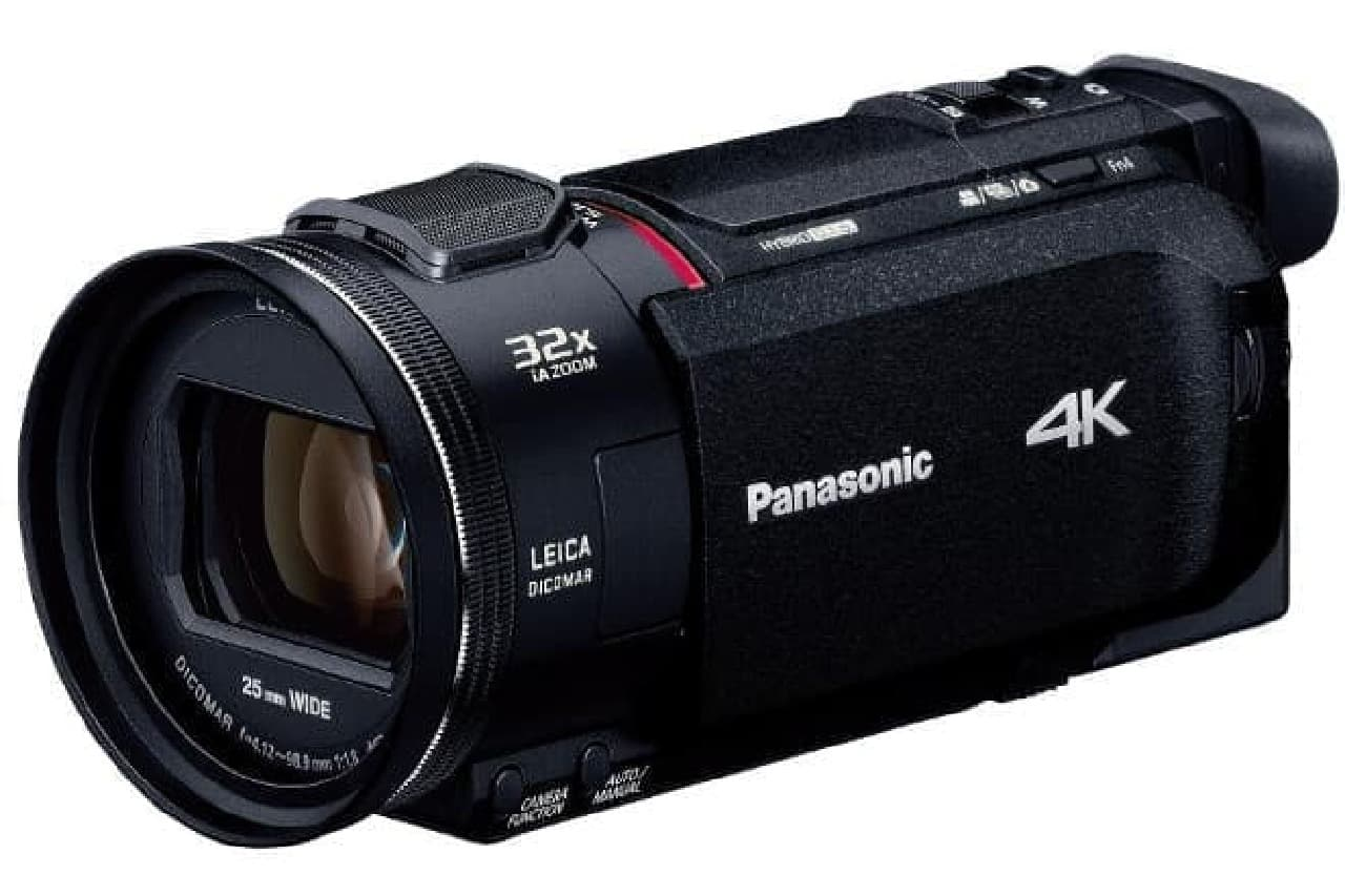 4KビデオカメラHC-WXF1M」「HC-WZXF1M」