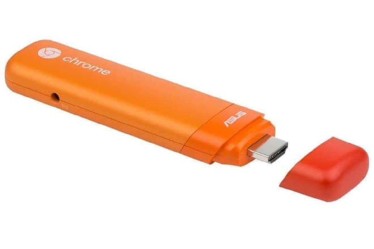 Chromebitの新色タンジェリンオレンジ