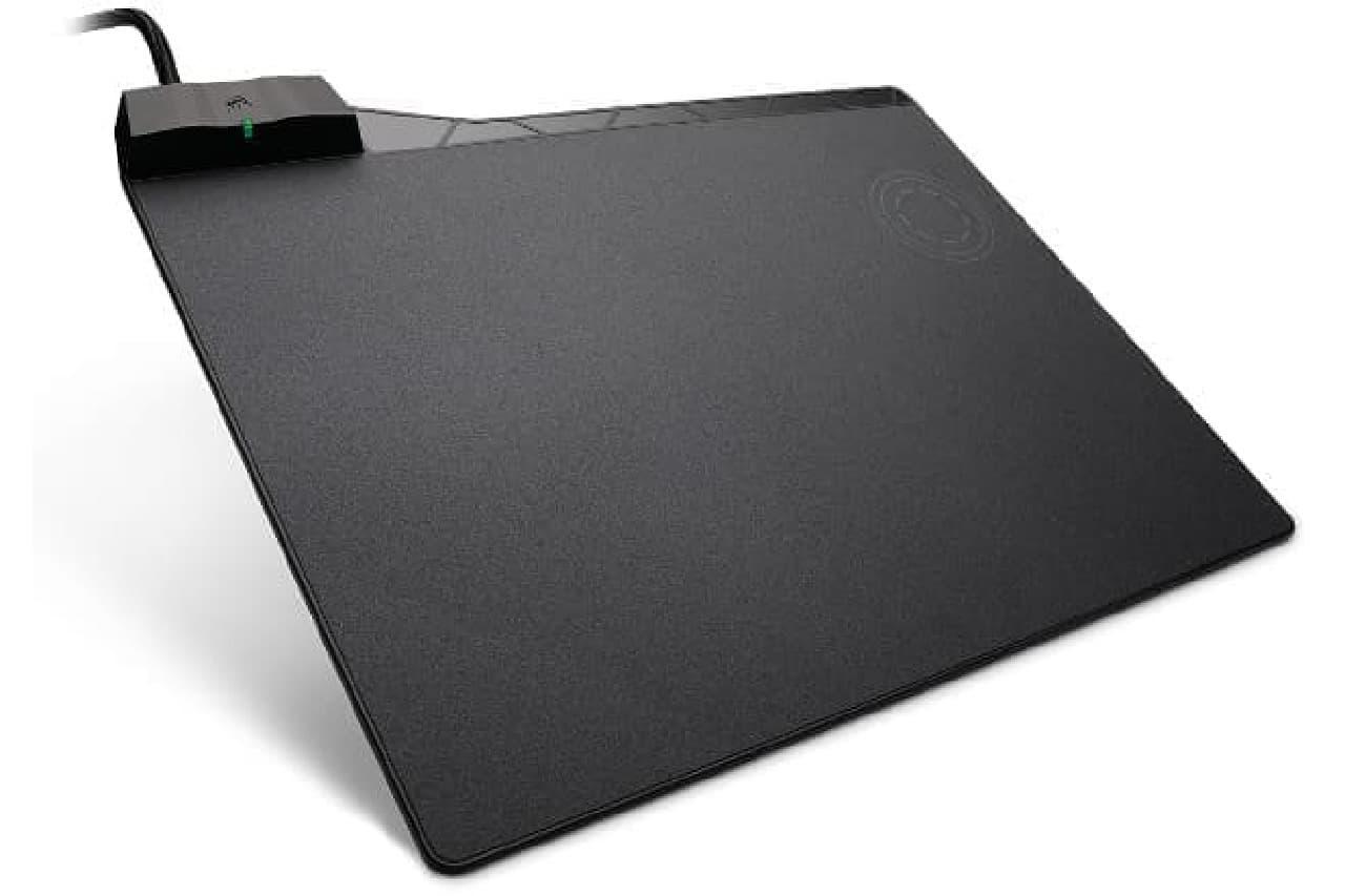 マウスパッド「CORSAIR Gaming MM1000 QI WIRELESS CHARGING MOUSE PAD(CH-9440022-AP)」