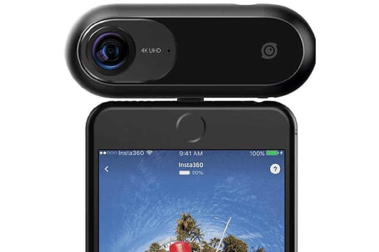 4K・360度カメラ「インスタ360ワン」