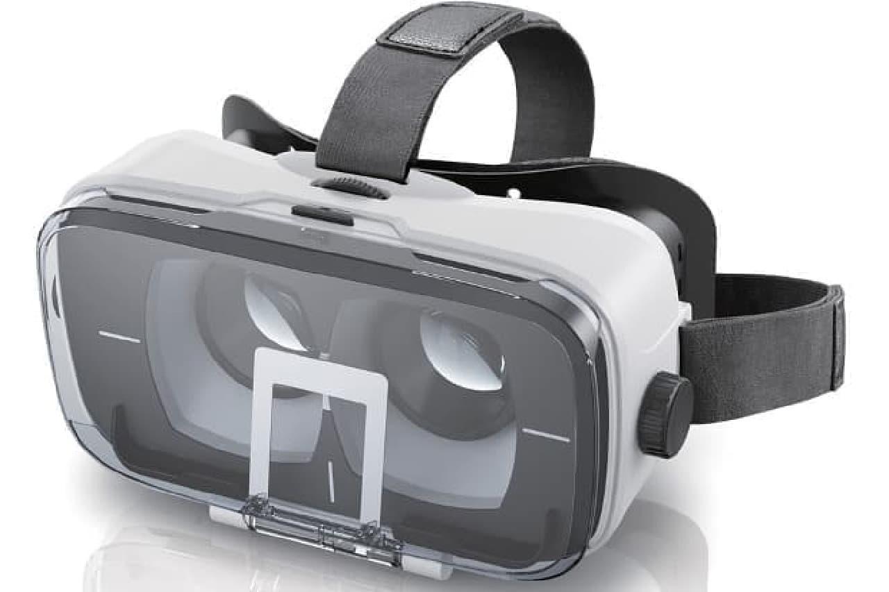 VR酔いしにくいヘッドマウントディスプレイ「P-VRGR03」