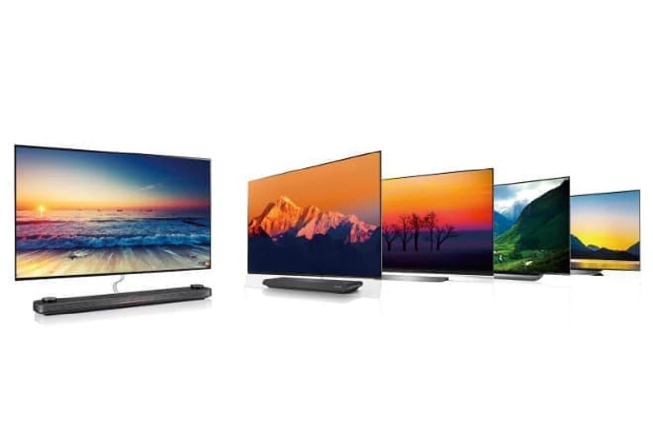 LGエレクトロニクス・ジャパンの有機ELテレビ