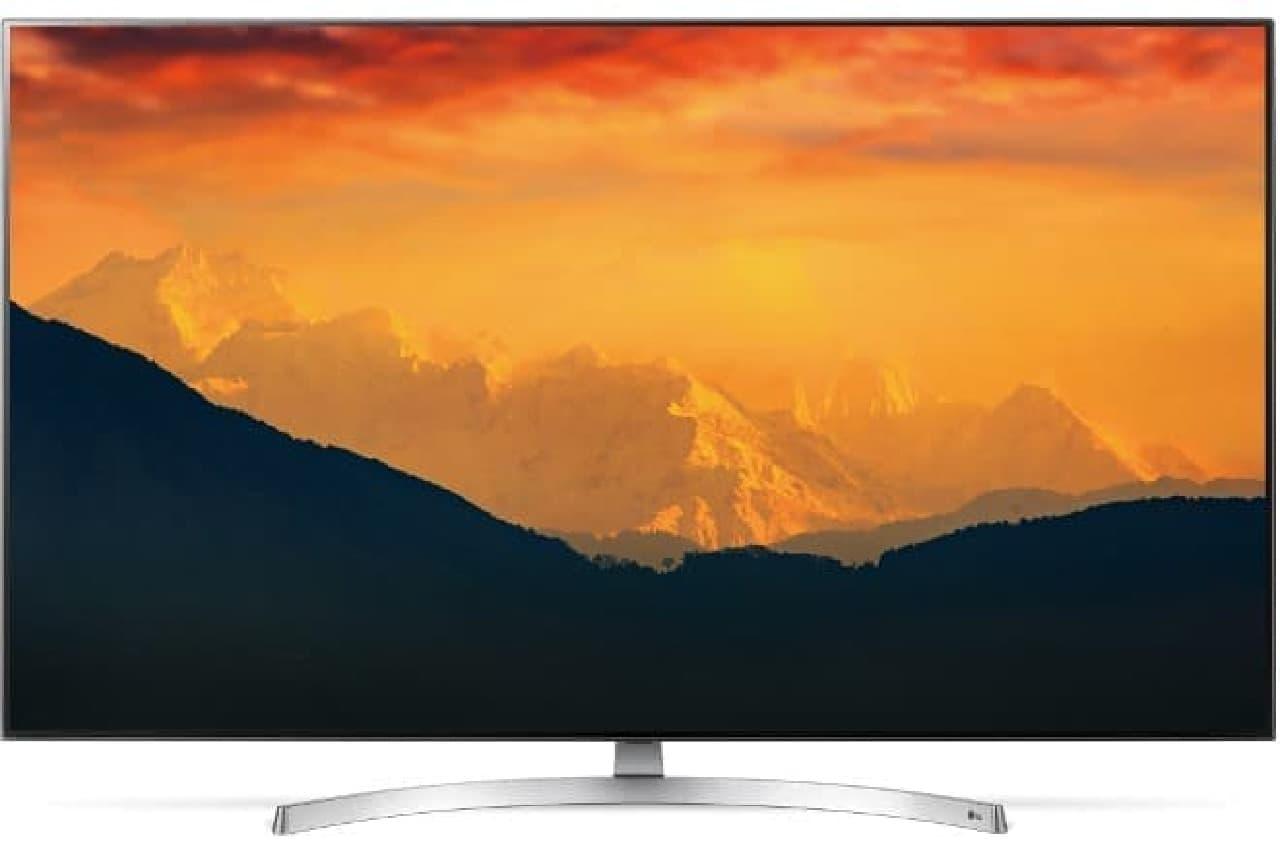 LGエレクトロニクス・ジャパンの4K液晶テレビ