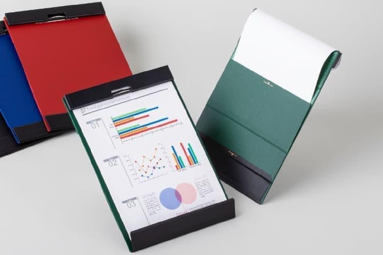 磁石式クリップボード「マグフラップ」