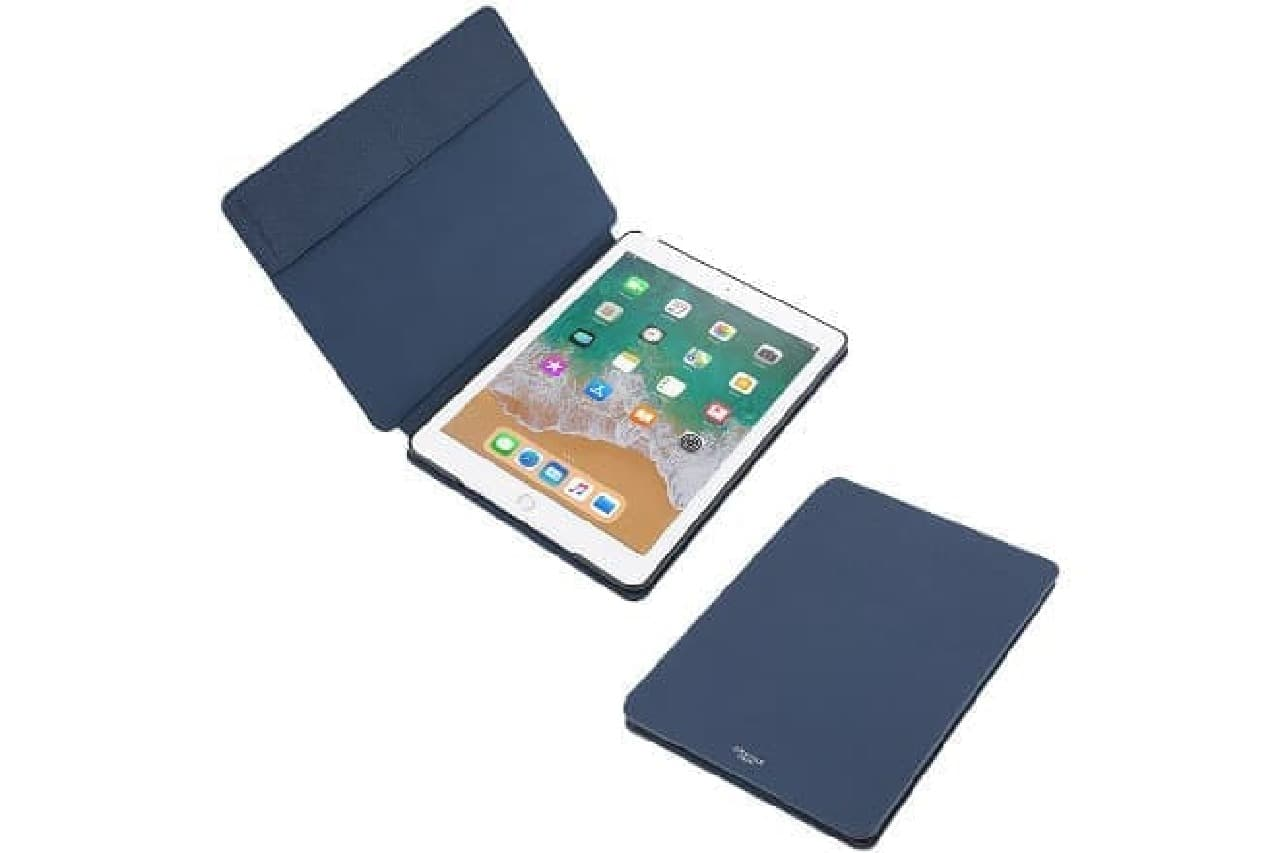 "iPadケース「""EURO Passione"" Book PU Leather Case for iPad 9.7」"