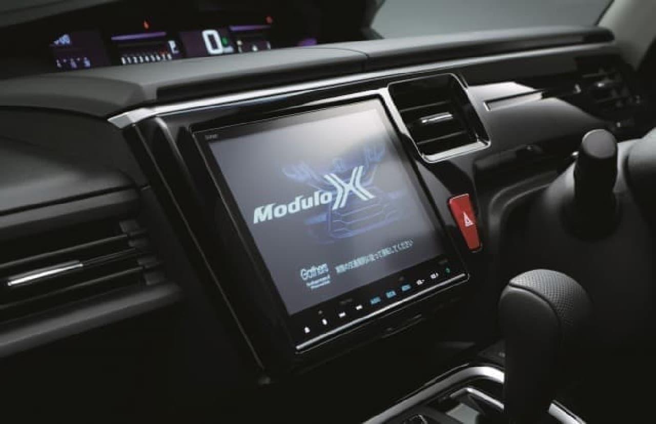 ホンダ、「ステップ ワゴン Modulo X」を一部改良