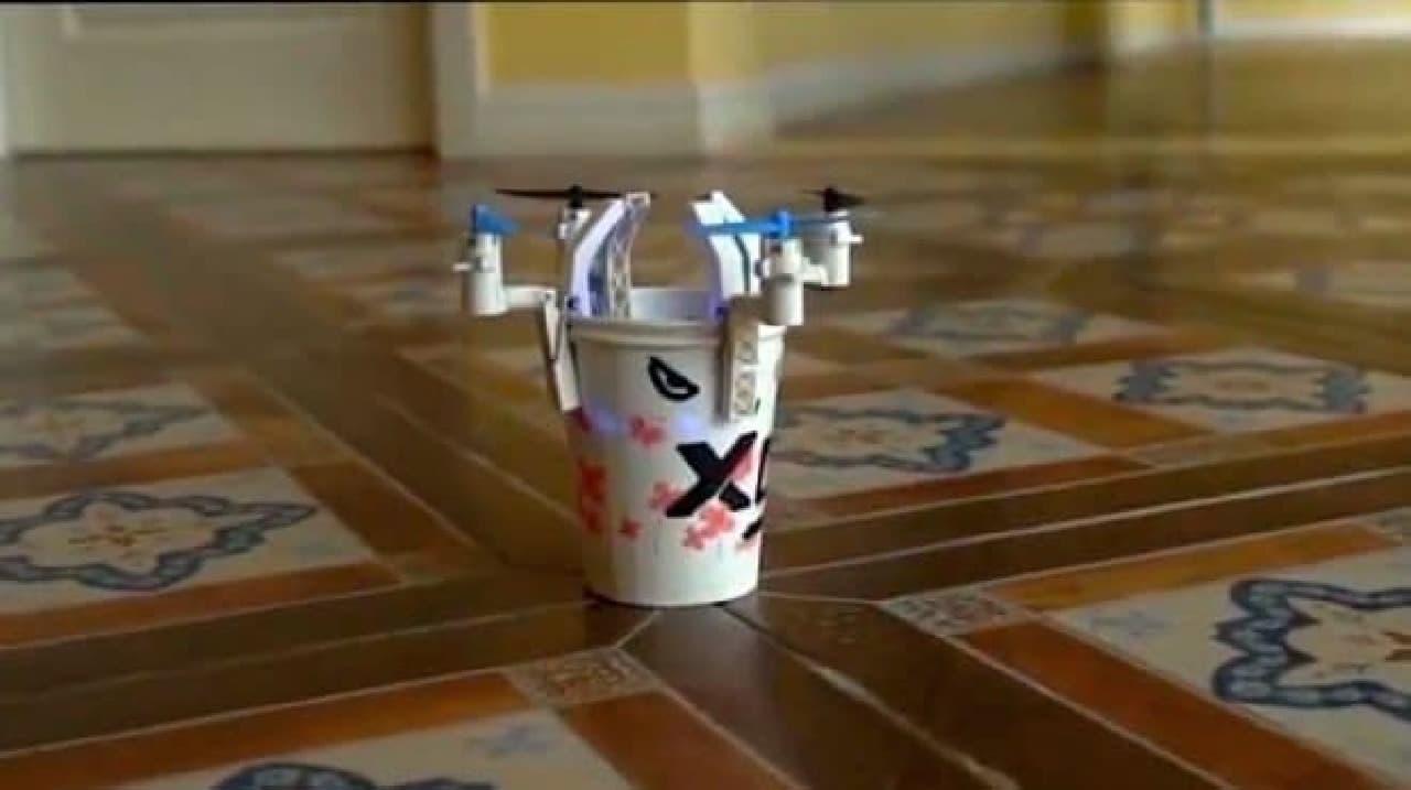 クリップタイプのドローン「Modularized Drone」